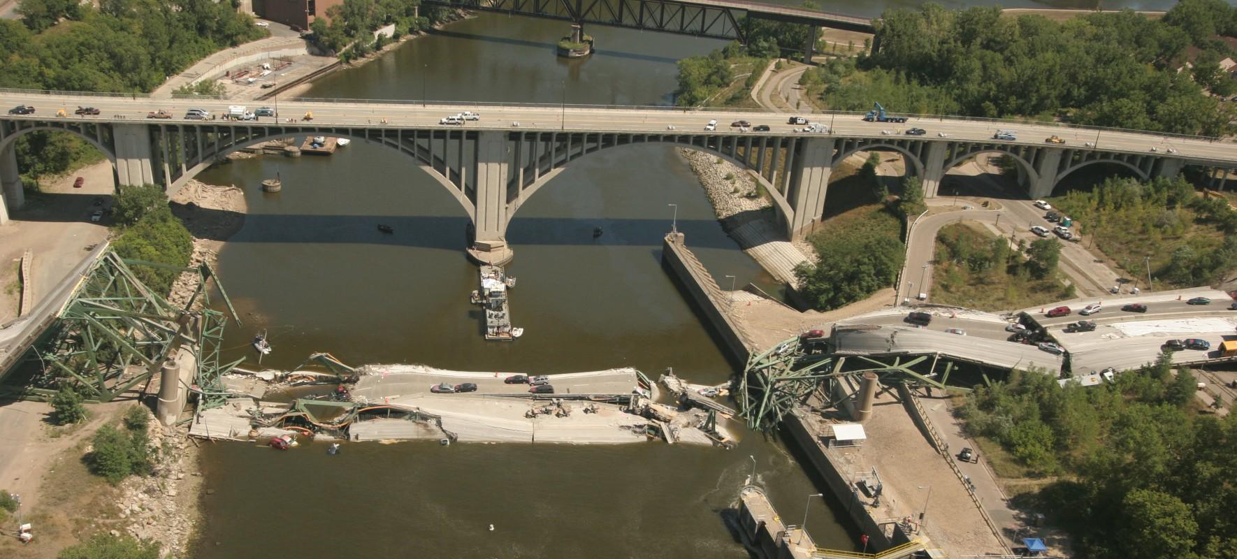 I 35w Mississippi River Bridge Minneapolis Mn Wje