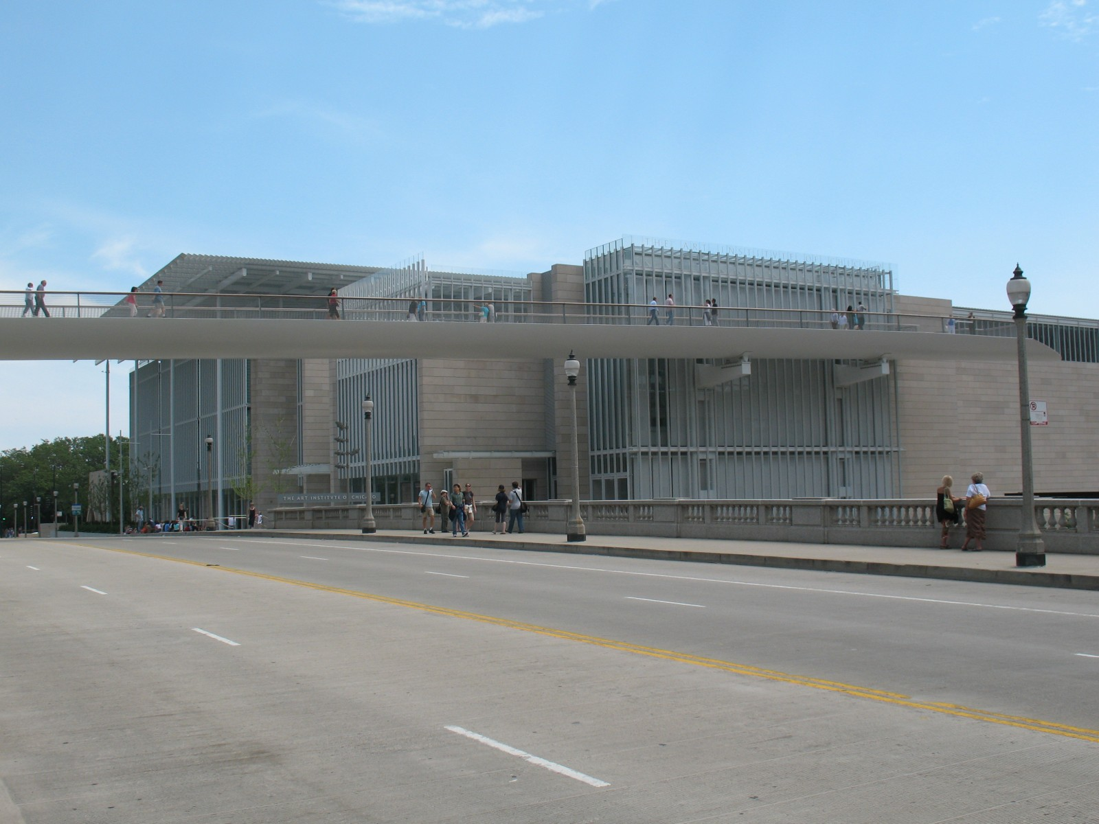Art institute of chicago modern wing chicago il for Art institute of seattle parking garage