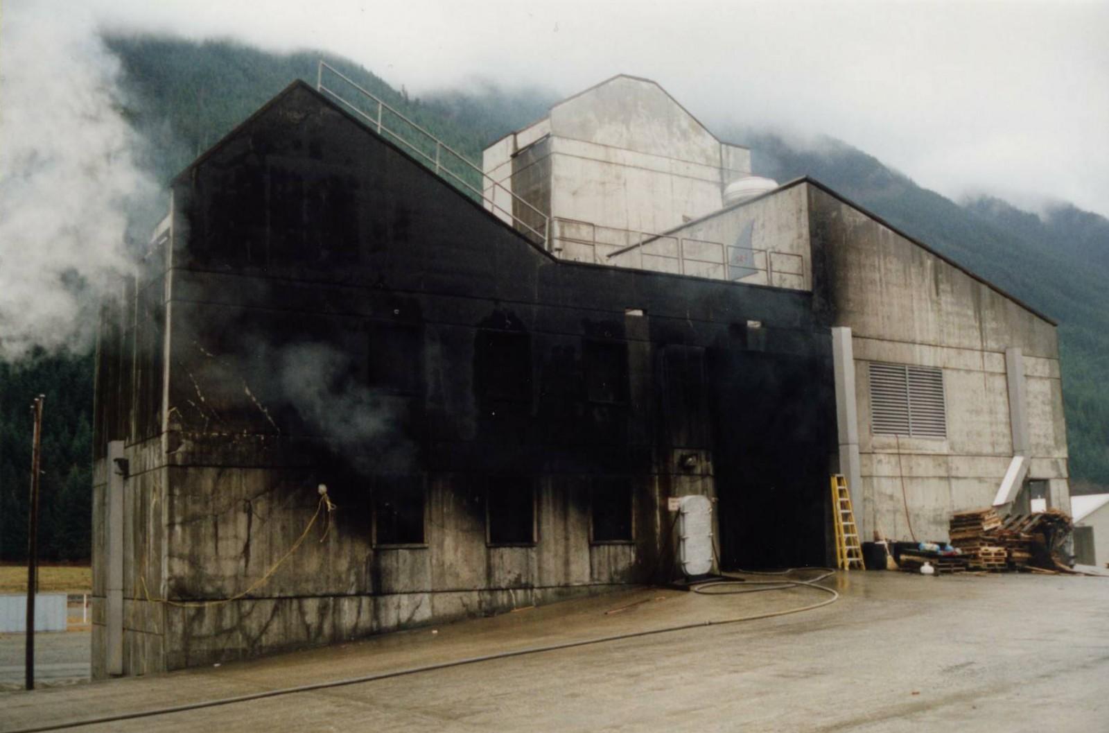 Fire Training Academy Burn Building North Bend Wa Wje