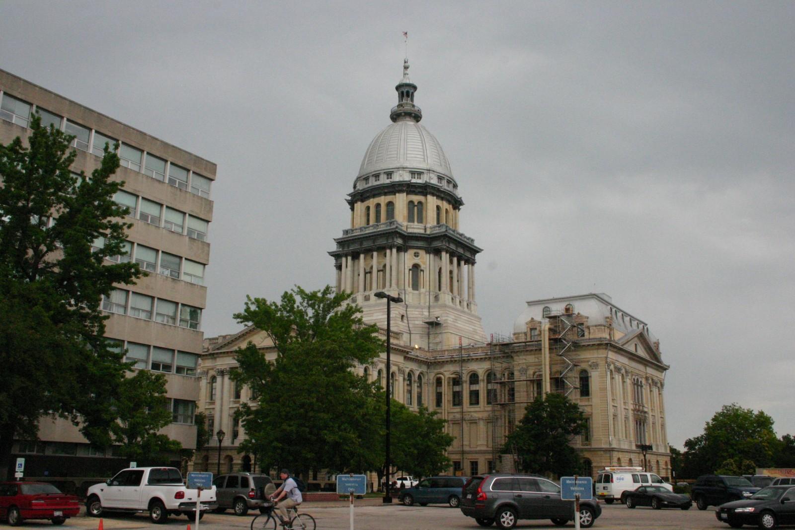 Illinois State Capitol Springfield Il Wje