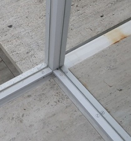 As A Result Of Flooding, Condensation, And Water Leakage, The Steel  Elements Of The House Had Corroded, Causing Damage To The Glass Windows And  Travertine ...