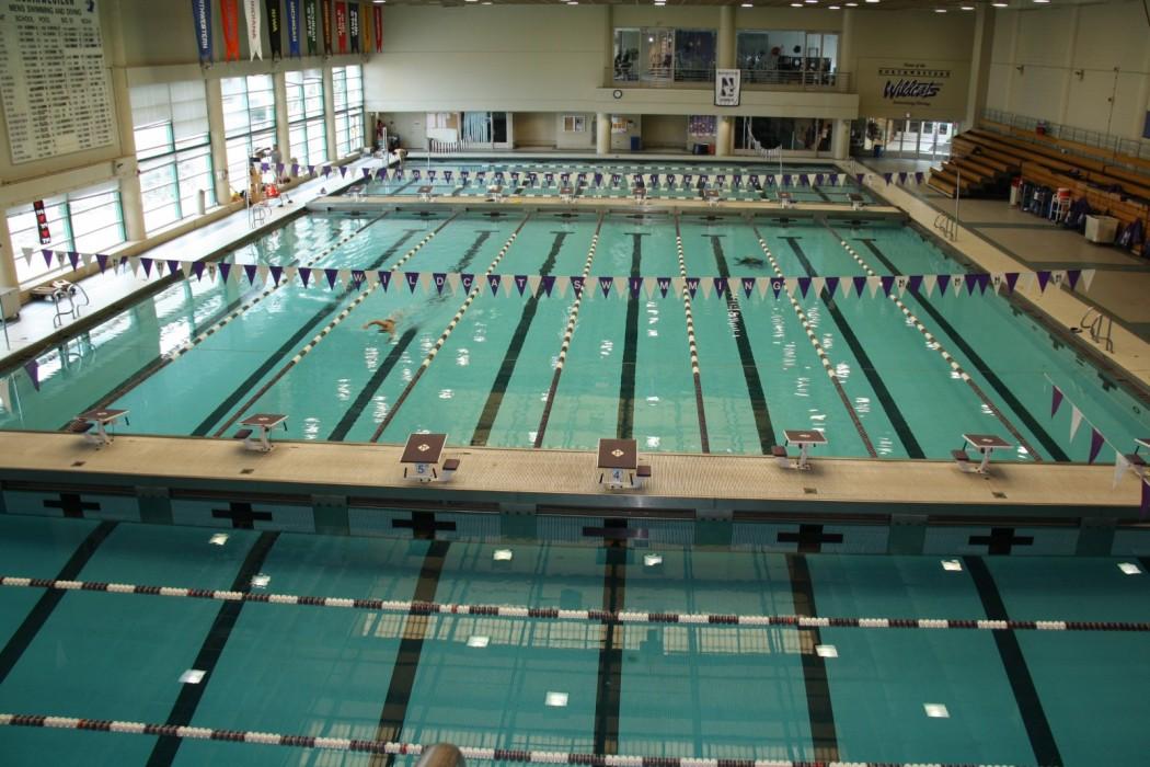 northwestern university norris aquatic center evanston il wje