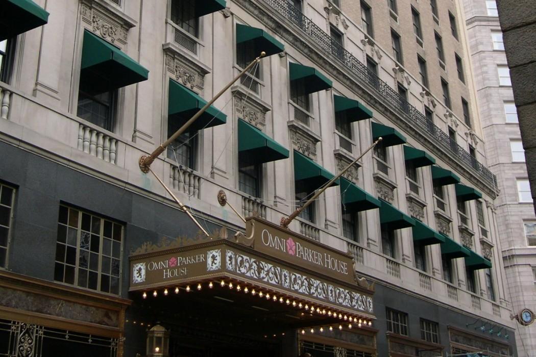 Omni Parker House Hotel Boston Ma Wje